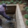 ●2/13 環境の緑化と美化報告 排水溝清掃