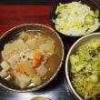 うっかりつゆだくになったのでスプーンで食べてください・根菜と雑穀の煮物