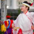 南国土佐・高知よさこい祭り本番11日 梅ノ辻競演場 梼原