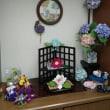 玄関の飾り付け   紫陽花