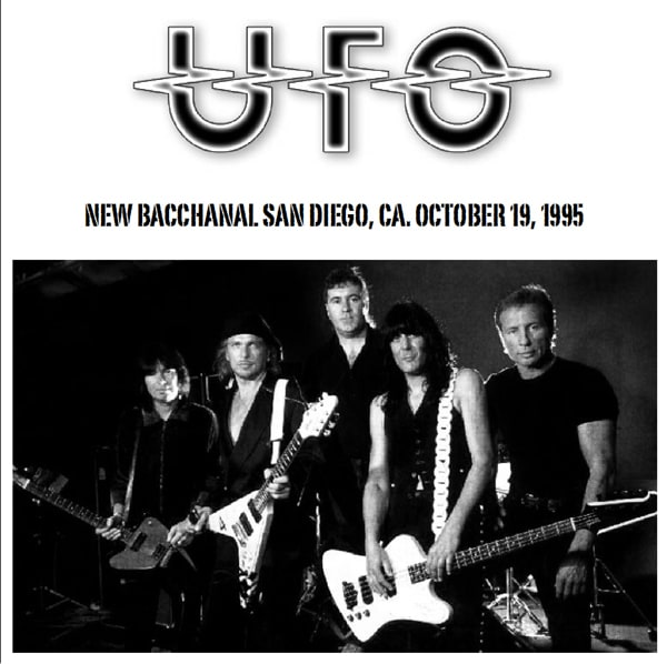 Ufo New Bacchanal, San Diego, CA 19th October 1995 - Guitars101
