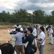 日本原演習場における米海兵隊の訓練を視察