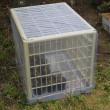 簡易温室を、作ってみた。