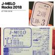 NHK J-MELO Rocks 2018 公開収録観覧