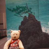 [京都国立近代美術館」の「東山魁夷展」。10月8日まで開催