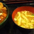 まんぷく食堂 W食べ放題 麻婆丼 唐揚げ