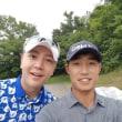 ReunshinparkさんInstagram グンちゃんゴルフ(*^▽^*)&2018韓国オープン記念Tシャツ