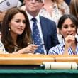 ルイ王子の洗礼式の公式家族写真と、キャサリン妃はウィンブルドン選手権への観戦はメーガン妃とウィリアム王子と