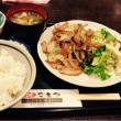 新宿コマツで生姜焼き定食
