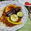 夏野菜のチキンカレー