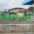 福山市立東小学校プールサイドフェンス設置工事