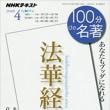 【tv】100分de名著「法華経」(第4回)
