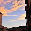 「六甲山」の夕焼雲