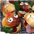 週末、悪天候!…仕事する(笑) ~ハロウィンハンバーガー♥~