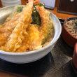 みんな大好き 天丼セット@てん天 (´▽`)