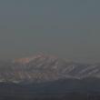 お出かけで見たお山は、冠雪が綺麗です。