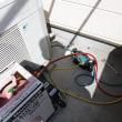 埼玉県杉戸町|エアコンのガスが抜けた、エアコンガス充填