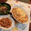 豚テキ&ポテトグラタン&竹の子甘辛煮