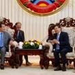 ラオス軍が国境侵犯 フン・セン首相の直談判で撤退