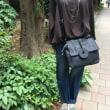 ☆ 新作 革釦がアクセントのbag ☆
