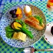爽やかな秋空 (*^^*) 朝食♪