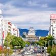 眺望デッキからの姫路城【兵庫県姫路市】
