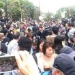 アベ政治を許さない!国会前に5万人が声を上げる!~4・14国会前行動に参加!