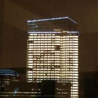 NY旅行(2)<真夜中のゴールドマン・サックスの本社ビル>(電通顔負けの24時間不夜城)