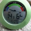 平成30年5月26日・今朝の東祖谷14.2℃