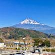 帰りは東名高速で富士山を