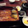 鰻の名店・神田「きくかわ」で,父の誕生祝。