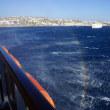MSCポエジア アドリア海・エーゲ海クルーズ ミコノス島を眺めながら