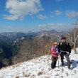 雪の高城山