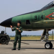 RF-4E偵察機地上展示☆エアパーク