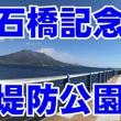 石橋記念公園の堤防公園