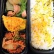 魚肉ソーセージとピーマン炒め弁当
