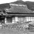 茅葺民家  岡山県旧加茂町の民家