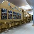 広島駅に段ボールのD51 200が登場。