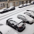 今朝も雪!