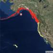 アラスカ沿岸部でマグニチュード8.2の地震 津波発生の恐れ