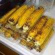 雨続きで収穫時期をむかえたトウモロコシがダメになりかかっています