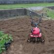 施肥耕耘しました。