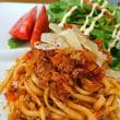 Chef 中川浩行さんのボロニェーゼのスパゲッティー二のレシピを参考に作りました~