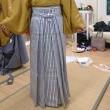 成人式、サカキバラの紋付き袴の講習会
