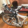 自転車のスパイクタイヤ(studded tire)装着