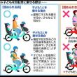 抱っこひもで乗って転倒、1歳児が死亡…自転車の事故相次ぐ おんぶも避けて