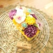Bean Paste Flower cake made by Lucky