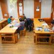 1月三回目の教室 ウソとヤマアカガエルの卵塊