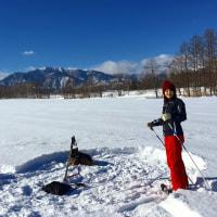 冬のようす 雪の上をお散歩☆スノーシューツアー☆彡星空自慢の宿☆帯広八千代ユースホステル
