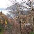 穂高岳と雲